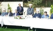 دريان: لبنان لا ينهض ولا يستقر إلا بقيام الدولة ومؤسساتها  الشرعية