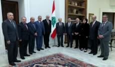 القصيفي من بعبدا: نحيي جهود الرئيس عون لبث الحياة في شرايين الدولة