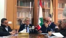 السفير الروسي في لبنان ألكسندر زاسبكين: يجب اتاحة الفرصة أمام الحكومة الجديدة
