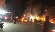 حالة الطرق في عدد من المناطق اللبنانية مساء اليوم