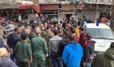 فوج حرس بيروت باشر بتنفيذ قرار منع التجمعات وإقفال المؤسسات والمحلات التجارية