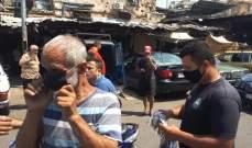 توزيع 24 ألف كمامة ضمن المواصفات الصحية المطلوبة في باب التبانة