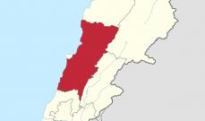 لا لتقسيم جبل لبنان