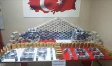 الأمن التركي ضبط شاحنة إيرانية تحمل 183 كيلوغراما هيروين