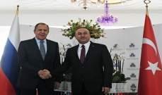 لافروف وجاويش أوغلو بحثا هاتفيا التسوية السلمية في سوريا