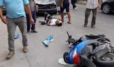النشرة: حادث سير على الشارع العام في بلدة الخرايب