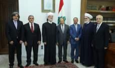 الرئيس عون يستقبل الصحناوي ووفد جمعية المشاريع الخيرية الاسلامية