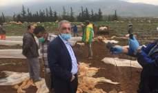 هاشم طالب الحكومة بإجراء الكشف السريع على الأضرار التي طالت منطقة مرجعيون حاصبيا