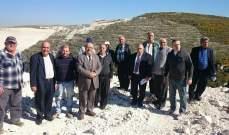 لجنة كفرحزير البيئية:مصانع إسمنت شكا وصمة عار على جبين لبنان الأخضر