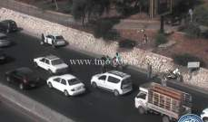 التحكم المروري: تصادم على اوتوستراد الضبيه ولم تعرف الاضرار بعد