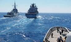 الدفاع اليونانية: تدريبات عسكرية مشتركة بين اليونان وقبرص وايطاليا وفرنسا بالمتوسط