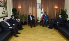 """اللواء عثمان التقى وفدا من """"حماس"""" ونقيب اصحاب شركات التاكسي"""
