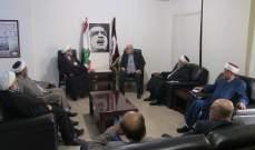 حمدان استقبل العلماء المسلمين:الحياد حماية للأمن القومي اليهودي بفلسطين