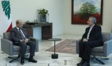 الرئيس عون التقى رئيس الطائفة الإنجيلية وعرض معه الاوضاع العامة في البلاد