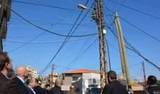 نهرا: هدف حملة قمع المخالفات على شبكة الكهرباء في طرابلس إزالة التعديات