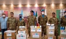 النشرة: هبة إيطالية لمستوصف موقع صور في ثكنة بنوا بركات للجيش اللبناني