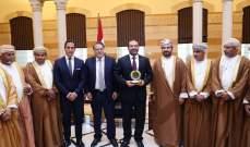 الحريري التقى عربيد وعرض معه اوضاع المجلس الاقتصادي الاجتماعي