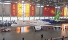 الغاء 96 رحلة جنوب غربي الصين بسبب الأمطار الغزيرة