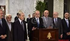 أنور الخليل:طلبنا الاسراع في قيام حكومة متجانسة والاصلاح يبدأ بملف الكهرباء