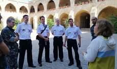 وفد من ضباط الإطفاء في المانيا زار بلدية صيدا ومقر فوج الإطفاء