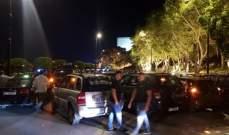 متظاهرون أقفلوا المدخل الرئيسي لكازينو لبنان