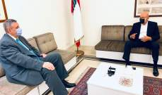 سلام عرض مع كوبيتش الاوضاع والتطورات في لبنان