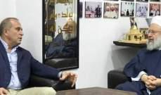 ماهر حمود استقبل رئيس فرع مخابرات الجيش اللبناني في الجنوب