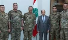 الرئيس عون استقبل مدير مركز البحوث والدراسات الاستراتيجية بالوكالة في الجيش