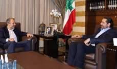 مصادر بيت الوسط للجديد: الحريري كان واضحا مع باسيل بشأن المصلحة الوطنية