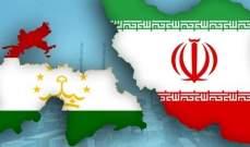 رئيس الوزراء الطاجيكي يؤكد على تنمية العلاقات الشاملة مع إيران
