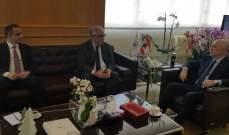 فنيانوس: الوزارة بصدد اعادة احياء قطاع النقل السككي في لبنان