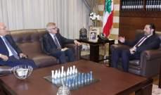 زاسبكين التقى الحريري: روسيا تؤيد جهوده لتشكيل حكومة وحدة وطنية