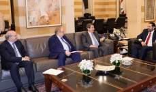 الحريري تسلم دعوة لحضور تكريم بطرس البستاني والتقى وفدا من محامي فرنسا