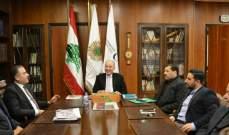 سفير لبنان في الجزائر التقى دبوسي: اللقاء للاطلاع على آخر المشاريع الإستثمارية