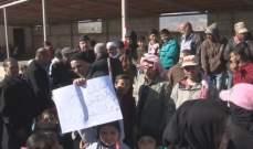 اعتصام في تل ذنوب احتجاجا على انقطاع الكهرباء