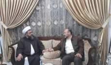 الشيخ حسام العيلاني التقى علي بركة وبحث معه التطورات الفلسطينية