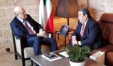 ميقاتي إستقبل الوزير المفوض لدى سفارة كازاخستان بلبنان والاسمر