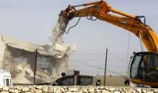 الجيش الإسرائيلي هدم منزل عائلة فلسطيني متهم بقتل مستوطن
