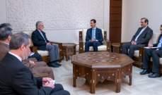 الأسد: عدوان تركيا على عفرين لا يمكن فصله عن سياستها بأزمة سوريا
