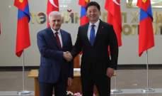 رئيسا وزراء تركيا ومنغوليا وقعا 7 اتفاقيات تعاون في مجالات متنوعة
