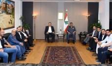 """عثمان التقى وفدا من جمعية """"يازا"""": نبذل جهودا كبيرة بتطبيق أحكام قانون السير"""