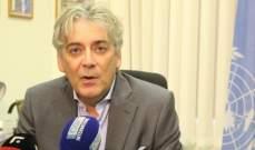 تيننتي: الوضع في جنوب لبنان مستقر وهادئ مع التزام الجميع بالتهدئة