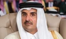 أمير قطر تلقى اتصالا من رئيس وزراء البحرين هنأه خلاله بحلول شهر رمضان
