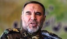 قائد سلاح البر الإيراني: سنبذل قصارى جهودنا لزيادة القدرات الهجومية لقواتنا