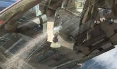 النشرة: رصاص الابتهاج بنتائج البريفيه يصيب عددا من السيارات في صيدا