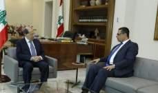 الرئيس عون استقبل سفير لبنان لدى ليبيريا وزوده بتوجيهاته