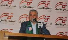 محمد نصرالله: صوتكم هو الضمانة للمقاومة لأن كل من يريد سحب سلاحها يخدم العدو