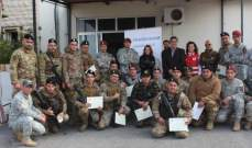 """دفعة جديدة من الجيش تتخرّج  من دورات""""رودز فور لايف"""" الإنقاذية"""