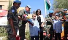 الكتيبة الهندية في اليونيفيل: لطالما التزمنا بالحفاظ على السلام والوئام في الجنوب