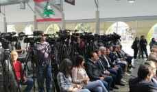 بستاني خلال جولة للإعلاميين على باخرة سبكتروم: حفر اول بئر نفطي سيكون في البلوك 4 نهاية 2019